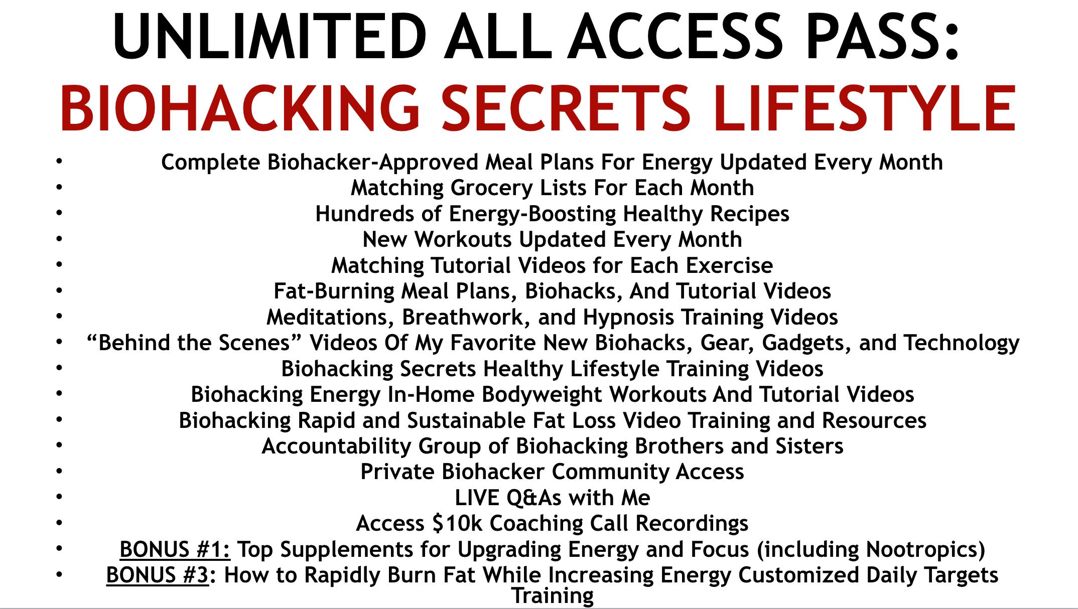 Biohacking Secrets